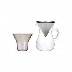 킨토 SCS 커피 카라페세트 2컵 (스텐)
